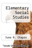 cover of Elementary Social Studies (1st edition)