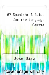 Cover of AP Spanish: A Guide for the Language Course EDITIONDESC (ISBN 978-0801301674)