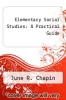 cover of Elementary Social Studies: A Practical Guide (2nd edition)