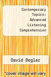 Cover of Contemporary Topics: Advanced Listening Comprehension 1 (ISBN 978-0801309298)