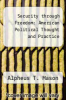 cover of Security through Freedom: American Political Thought and Practice