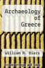 cover of Archaeology of Greece