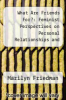 cover of What Are Friends For?: Feminist Perspectives on Personal Relationships and Moral Theory
