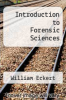 cover of Introduction to Forensic Sciences