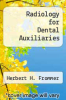 cover of Radiology for Dental Auxiliaries