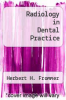 cover of Radiology in Dental Practice