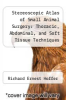 cover of Stereoscopic Atlas of Small Animal Surgery: Thoracic, Abdominal, and Soft Tissue Techniques