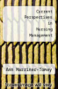 cover of Current Perspectives in Nursing Management