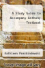 cover of A Study Guide to Accompany Anthony Textbook (11th edition)