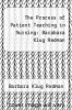 cover of The Process of Patient Teaching in Nursing: Barabara Klug Redman (4th edition)