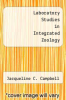 cover of Laboratory Studies in Integrated Zoology (8th edition)
