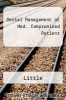 Dental Management of Med. Compromised Patient by Little - ISBN 9780801668371