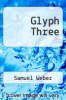cover of Glyph Three