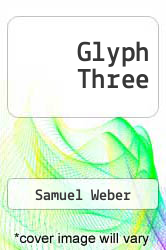 Cover of Glyph Three EDITIONDESC (ISBN 978-0801820830)