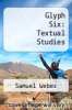 cover of Glyph Six: Textual Studies