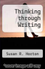 cover of Thinking through Writing