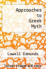 cover of Approaches to Greek Myth