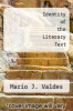 cover of Identity of the Literary Text