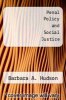 cover of Penal Policy and Social Justice