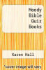 cover of Moody Bible Quiz Books