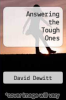cover of Answering the Tough Ones