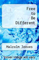 Cover of Free to Be Different EDITIONDESC (ISBN 978-0802800275)