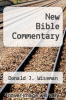 cover of New Bible Commentary