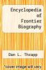cover of Encyclopedia of Frontier Biography