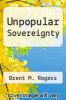 cover of Unpopular Sovereignty
