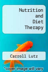 Cover of Nutrition and Diet Therapy EDITIONDESC (ISBN 978-0803608733)