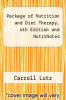 cover of Package of Nutrition and Diet Therapy, 4th Edition and NutriNotes