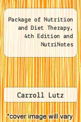 Cover of Package of Nutrition and Diet Therapy, 4th Edition and NutriNotes  (ISBN 978-0803615298)