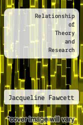 Cover of Relationship of Theory and Research 2ND 92 (ISBN 978-0803634152)