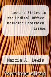 Cover of Law and Ethics in the Medical Office, Including Bioethical Issues EDITIONDESC (ISBN 978-0803656161)