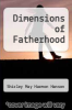 cover of Dimensions of Fatherhood