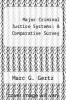 cover of Major Criminal Justice Systems: A Comparative Survey (2nd edition)
