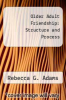 cover of Older Adult Friendship: Structure and Process