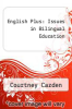 cover of English Plus: Issues in Bilingual Education
