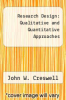 cover of Research Design: Qualitative and Quantitative Approaches