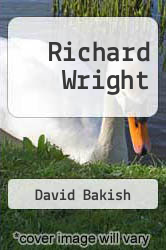 Cover of Richard Wright EDITIONDESC (ISBN 978-0804460262)
