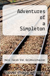 Cover of Adventures of a Simpleton 1 (ISBN 978-0804462297)
