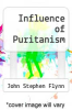 cover of Influence of Puritanism