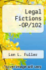 cover of Legal Fictions -OP/102