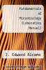 cover of Fundamentals of Microbiology (Laboratory Manual) (4th edition)