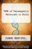 cover of NMR of Paramagnetic Molecules in Biolo