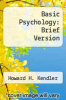 cover of Basic Psychology: Brief Version (3rd edition)
