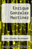 cover of Enrique Gonzalez Martinez