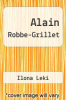 cover of Alain Robbe-Grillet