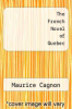 cover of The French Novel of Quebec