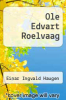 cover of Ole Edvart Roelvaag